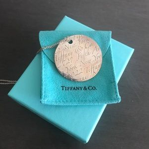 """Authentic Tiffany & Co. Notes Fifth Ave """"Retired"""""""